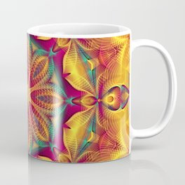 Flower Of Life Mandala (Summer Heat) Coffee Mug