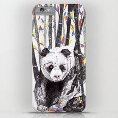 Panda Bear // Endangered Animals Slim Case iPhone 6s Plus