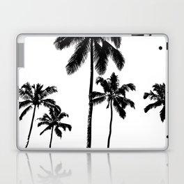Monochrome tropical palms Laptop & iPad Skin