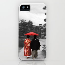 Getting married Matsumoto  Japan iPhone Case