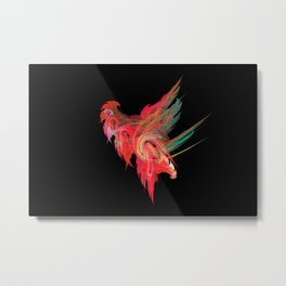 Cocky cock Metal Print