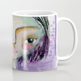 Girl in Purple Coffee Mug
