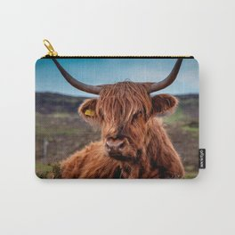 Scottish Highland longhorns Rancher Carry-All Pouch