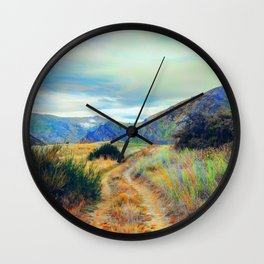 Fall nature landscape photography Wall Clock