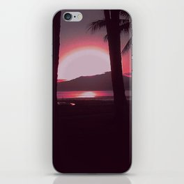 Cairns Sunrise in Red iPhone Skin