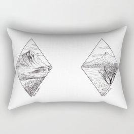 Scottish Mountains Rectangular Pillow