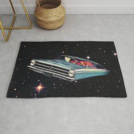 Flying To The Future Rug