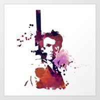 harry Art Prints featuring Harry by BIG Colours
