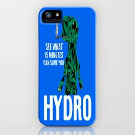 Hydro Gecko what 15 minutes can save iPhone Case