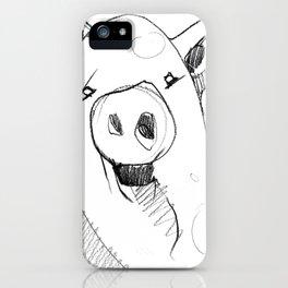 DSA - THE PIG iPhone Case