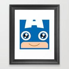 Adorable Captain Framed Art Print