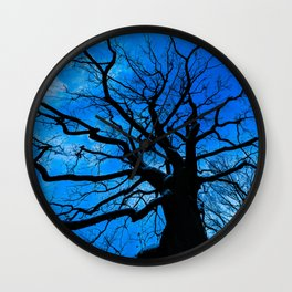 Tree of Life  ( Oblivion Forest ) 2019 Wall Clock