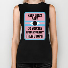 Keep Girls Safe Biker Tank