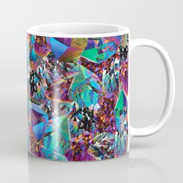 Oil Sick Rainbow Aura Crystals Coffee Mug