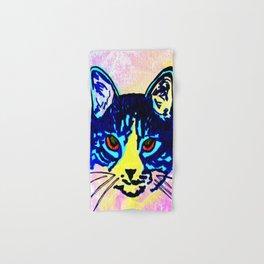 Pop Art Cat No. 2 Hand & Bath Towel