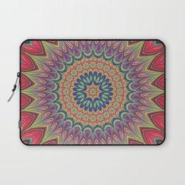 Flame mandala Laptop Sleeve
