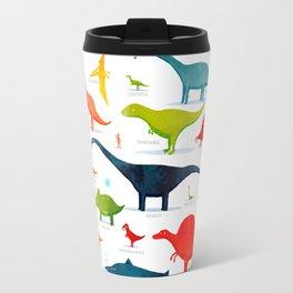 Dinosaur Poster Travel Mug