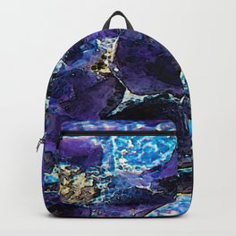 AMETHYST ABSTRACT Backpack