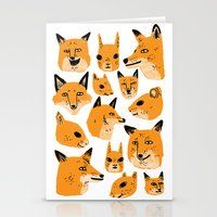 woodland Stationery Cards featuring Woodland by Jack Teagle