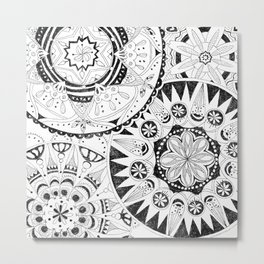Mandala Series 02 Metal Print