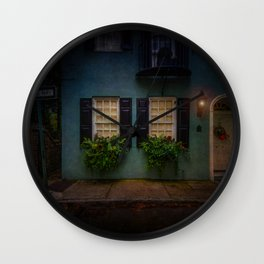 South of Broad - One Way Street Wall Clock