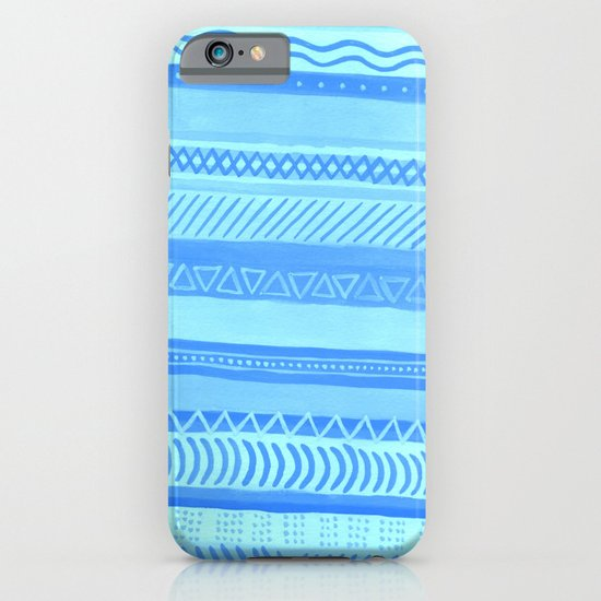Tribal#1 (Blue) iPhone & iPod Case