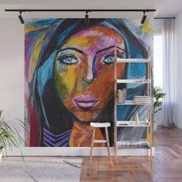 Powerful Woman Wall Mural