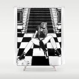 asc 461 - La fille du concierge (Troublemaker at The Saint James) Shower Curtain