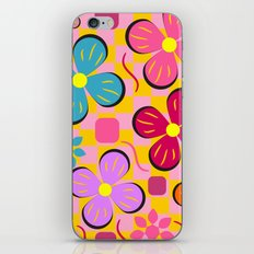 Floral joy in June iPhone & iPod Skin
