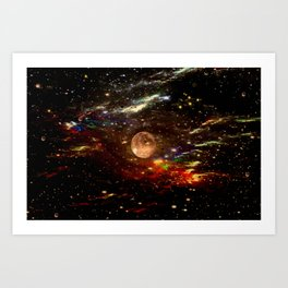 WE AND THE UNIVERSE Art Print