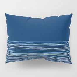 Blue thread , abstract Pillow Sham