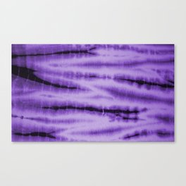 Purple Tie Dye  Canvas Print