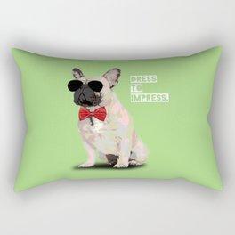 French Bulldog II Rectangular Pillow