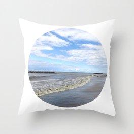 Beachy Keen! Throw Pillow
