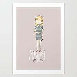 Margot T Art Print