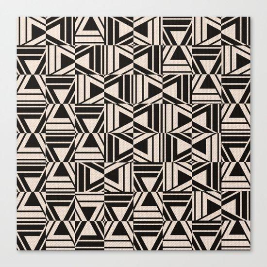 Afro Ethnic Canvas Print