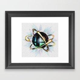 Smashing Colors Framed Art Print
