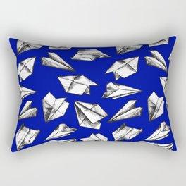 Paper airplane pattern Rectangular Pillow