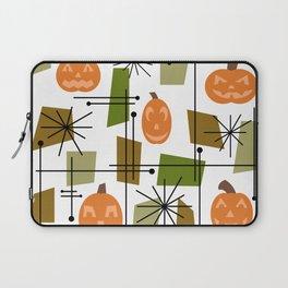 Halloween Mid Century Modern Laptop Sleeve