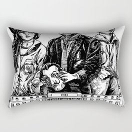 La casa de papel Rectangular Pillow