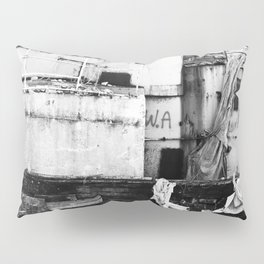 Destroyed - B/W Pillow Sham