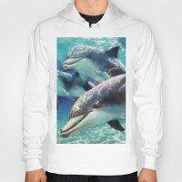 dolphin Hoodies featuring Dolphin by A.Aenska-Cholpanova