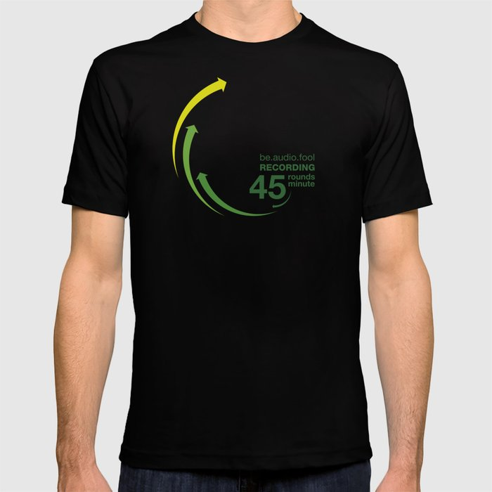 45rpm be.audio.fool T-shirt