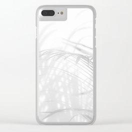 Shadow Fern Clear iPhone Case