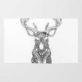 Christmas Reindeer Decorative Art Rug