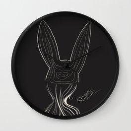 Bunny Girl Wall Clock