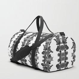 Black Ink Blots Duffle Bag