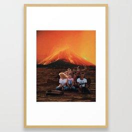 kids are alright Framed Art Print