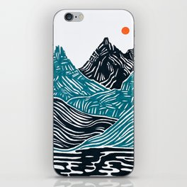 ABSTRACTED LANDSCAPE iPhone Skin