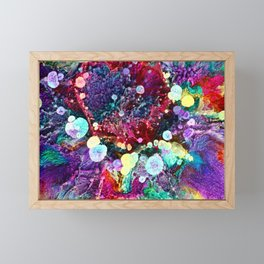 Microcosmos Macro 2 Framed Mini Art Print